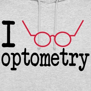 I Love Optometry Hoodie - Unisex Hoodie