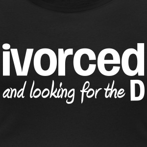 Ivorced and Looking for the D Magliette - T-shirt scollata donna