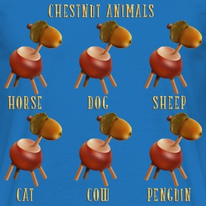 chestnut_animals_10_201601 T-Shirts - Männer T-Shirt
