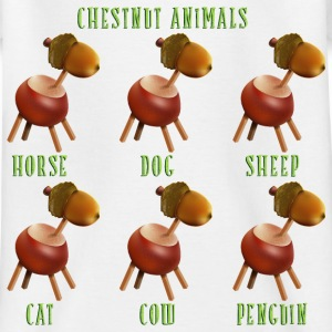 chestnut_animals_10_201603 T-Shirts - Kinder T-Shirt
