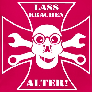 Lass Krachen Alter T-Shirts - Frauen T-Shirt