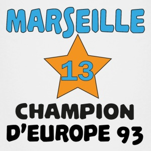 Marseille champion d'europe 93 T-shirts - Teenager premium T-shirt
