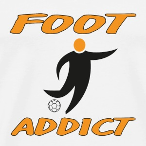 Foot addict Tee shirts - T-shirt Premium Homme