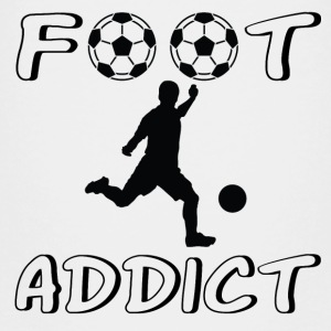 Foot addict T-shirts - Premium-T-shirt barn