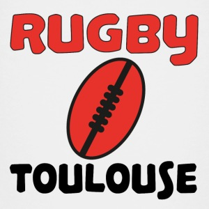 Rugby toulouse T-shirts - Premium-T-shirt tonåring
