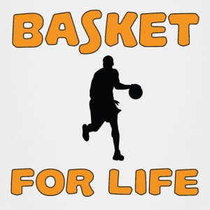 Basket for life Tee shirts - T-shirt Premium Enfant