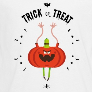 trick or treat Long Sleeve Shirts - Teenagers' Premium Longsleeve Shirt
