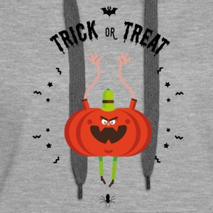 trick or treat Hoodies & Sweatshirts - Women's Premium Hoodie