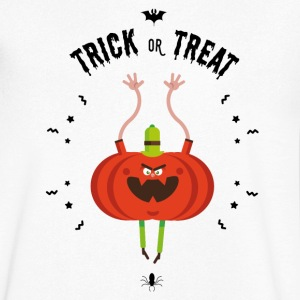 trick or treat Tee shirts - T-shirt Homme col V