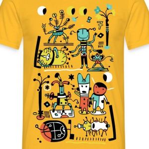 Yellow Birthday T-Shirts - Men's T-Shirt