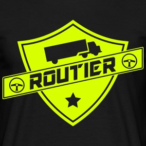 blason routier Tee shirts - T-shirt Homme