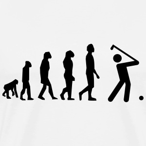Golf evoltution  - Männer Premium T-Shirt