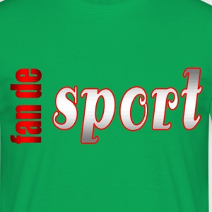 fan de sport - T-shirt Homme