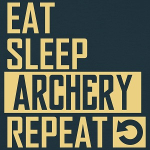 eat sleep archery T-Shirts - Männer T-Shirt