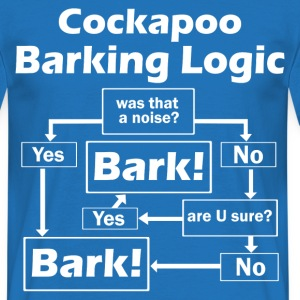 Cockapoo Logic T-Shirts - Men's T-Shirt
