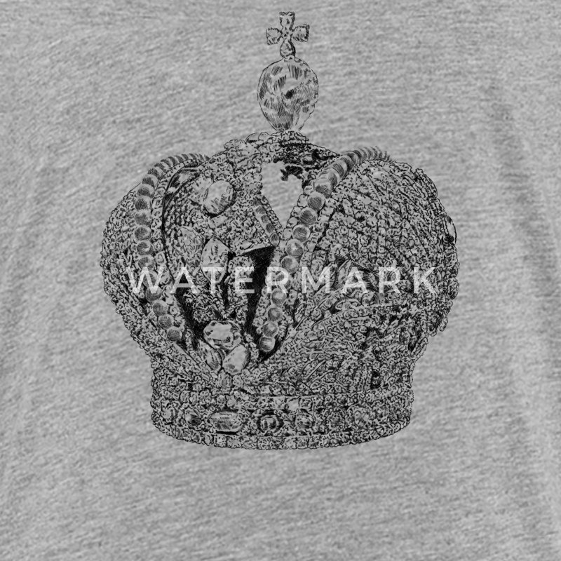 Crown of the Russian Empire Shirts - Teenage Premium T-Shirt