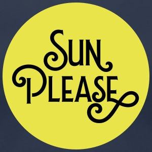Sun Please T-shirts - Vrouwen Premium T-shirt