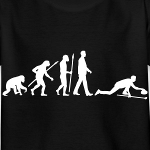 evolution_curling_spieler_10_2016_c_1c T-Shirts - Kinder T-Shirt