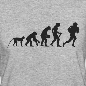 Evolution Football Magliette - T-shirt ecologica da donna