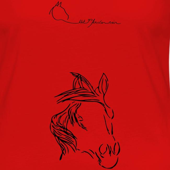 MPS  LOGO & Dreamhorse Woman Longsleeve ( Print Digital Black )