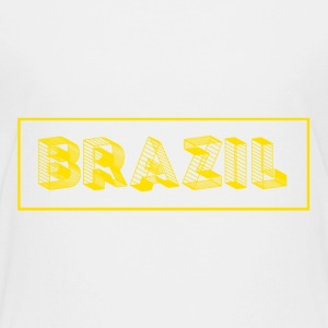 T-shirt kinder Brasil - Brazil - Teenager Premium T-Shirt
