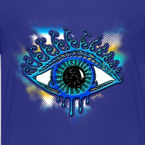 Eye - bearer of light, symbol of clarity Shirts - Kinderen Premium T-shirt