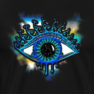 Eye - bearer of light, symbol of clarity T-shirts - Mannen Premium T-shirt