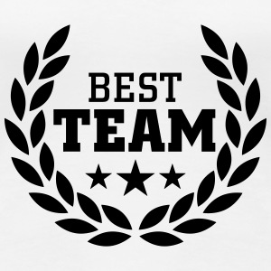 Best Team T-shirts - Premium-T-shirt dam