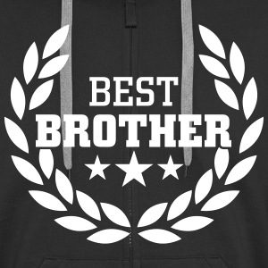 Best Brother Hoodies & Sweatshirts - Men's Premium Hooded Jacket