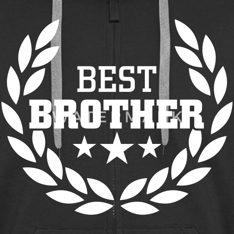 Best Brother Pullover & Hoodies - Männer Premium Kapuzenjacke