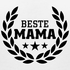 Beste Mama T-Shirts - Women's V-Neck T-Shirt