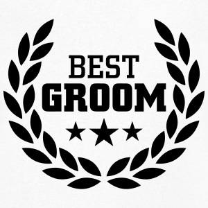 Best Groom T-Shirts - Men's V-Neck T-Shirt