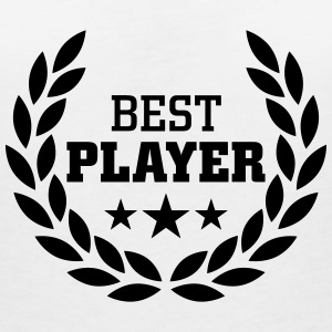 Best Player T-shirts - T-shirt med v-ringning dam
