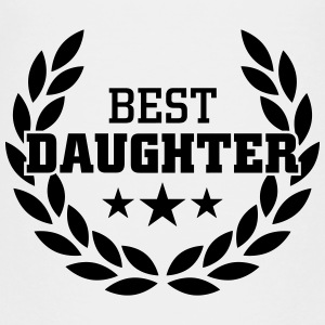 Best Daughter T-shirts - Premium-T-shirt tonåring