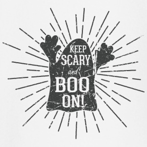 Keep scary and boo on baby shirts met lange mouwen - T-shirt