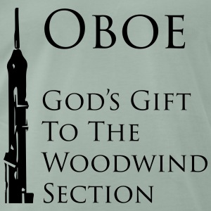 Oboe God's gift Tee shirts - T-shirt Premium Homme
