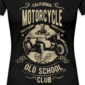 CALIFORNIA OLD SCHOOL CLUB #3 T-Shirts - Frauen Premium T-Shirt