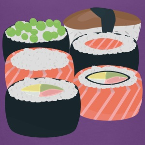 Number of different Sushi rolls Shirts - Teenage Premium T-Shirt