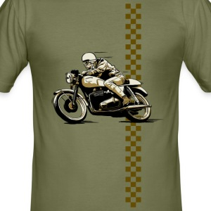 Cafe Racer 1 - Männer Slim Fit T-Shirt