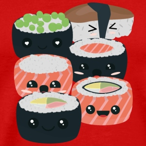 A series of fun Sushi rolls T-Shirts - Men's Premium T-Shirt