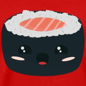 Kawaii sushi with salmon T-Shirts - Men's Premium T-Shirt