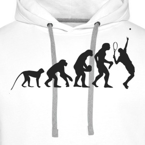 Evolution Tennis Sweaters - Mannen Premium hoodie
