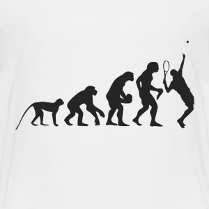 Evolution Tennis Shirts - Teenage Premium T-Shirt