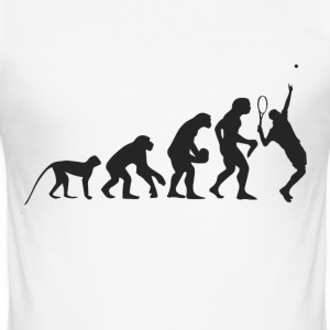 Evolution Tennis T-Shirts - Männer Slim Fit T-Shirt