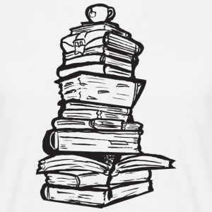Books T-shirts - Herre-T-shirt