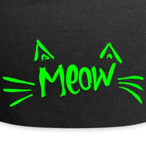 meow Caps & Hats - Jersey Beanie
