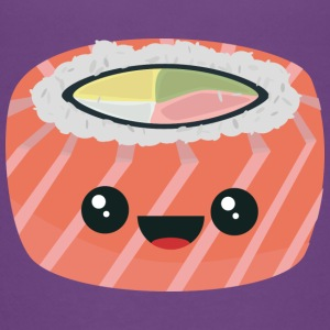 Salmon sushi with rice Shirts - Teenage Premium T-Shirt