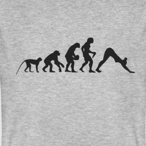 Evolution Yoga T-Shirts - Männer Bio-T-Shirt