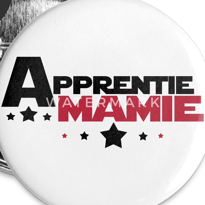 apprentie mamie Badges - Badge petit 25 mm