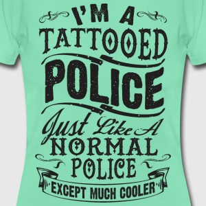 TATTOOED POLICE WOMEN T-SHIRT - Women's T-Shirt